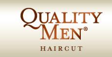 Quality Men Haircut logo